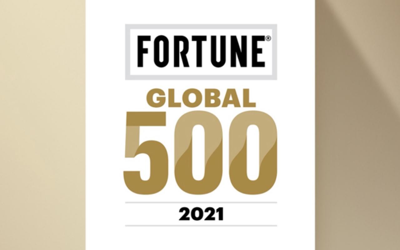 小米连续入围《财富》世界500强,排位第338位