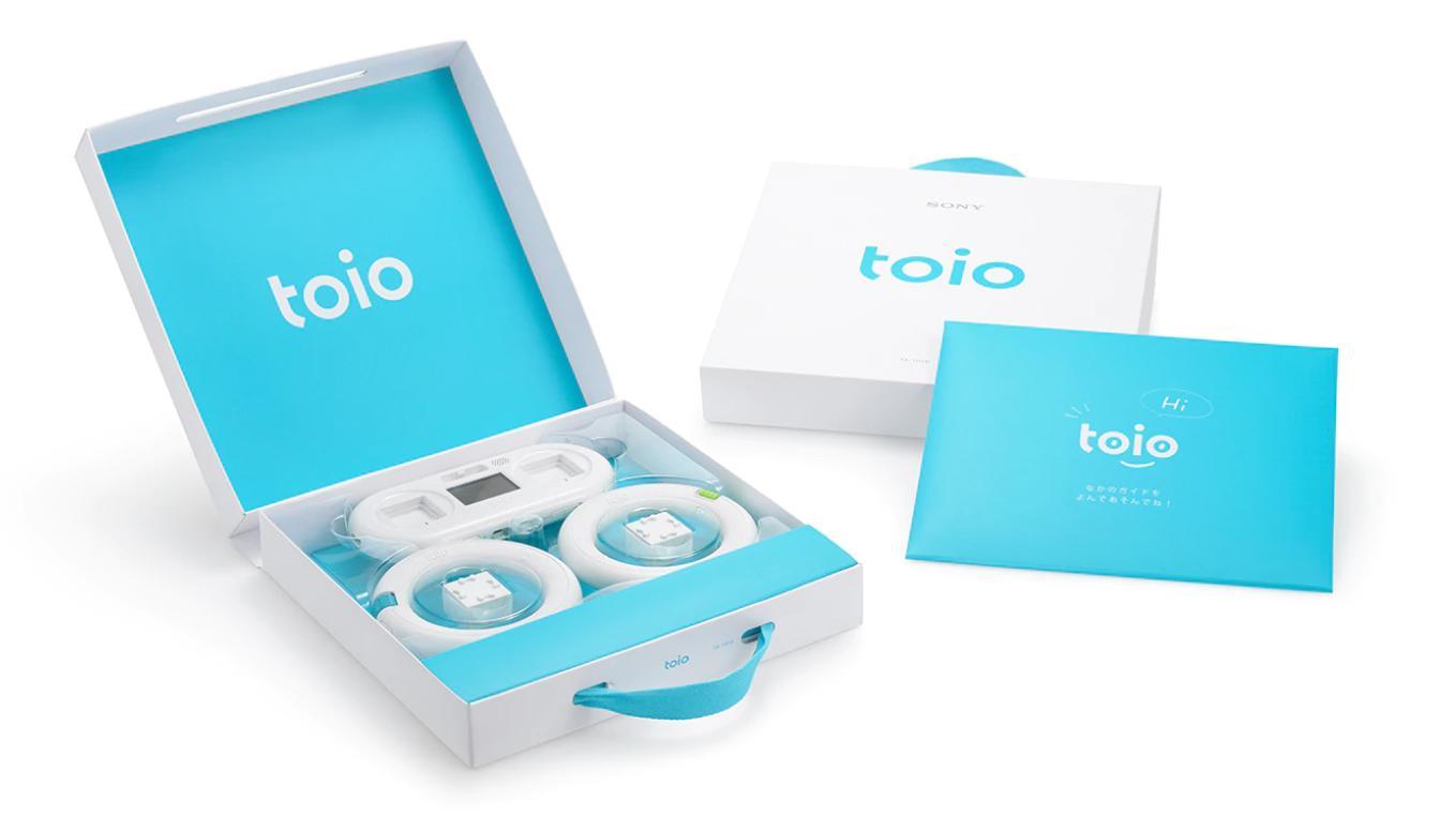 索尼toio创意机器人套件国行版正式发布 定价1999元  索尼toio创意机器人套件国行版正式发布 定价1999元