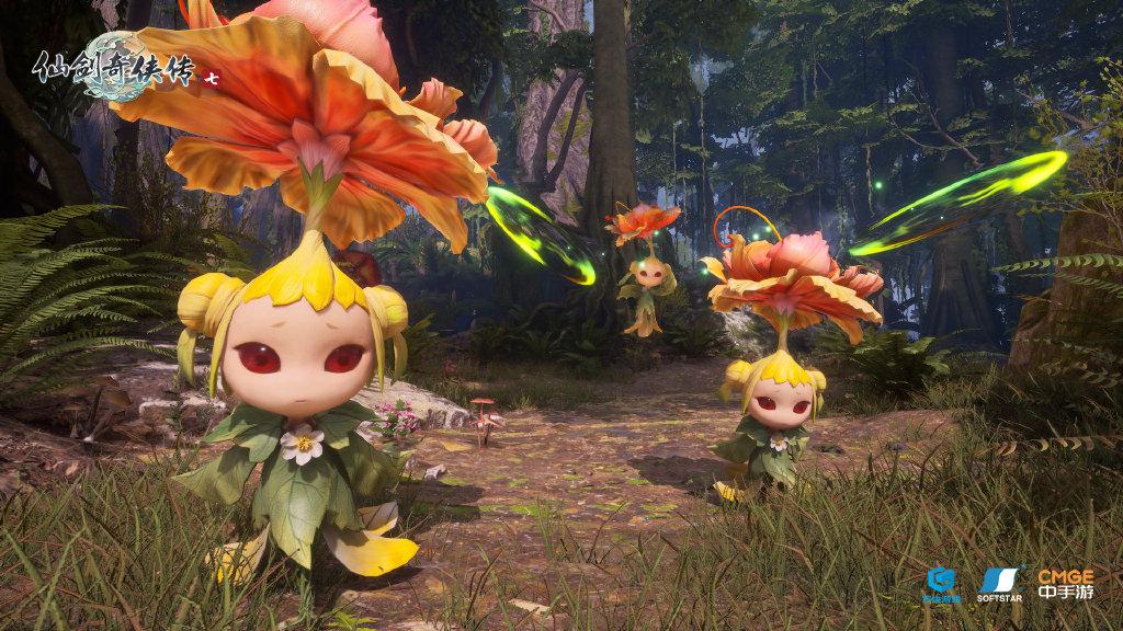 《仙剑奇侠传七》公开最新怪物实机截图