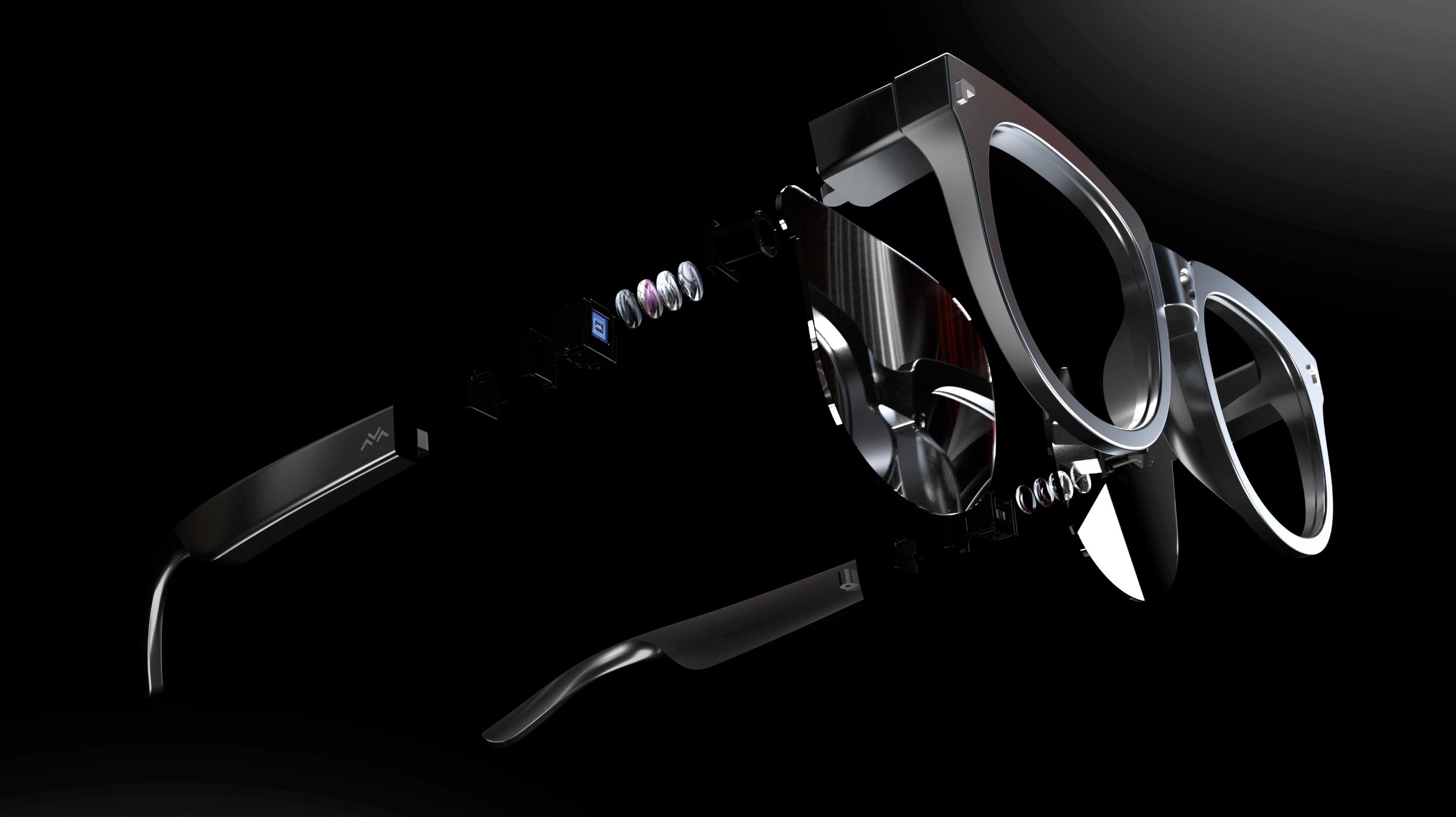 家居智联+车镜联动 雷鸟创新发布双目全彩MicroLED光波导AR眼镜