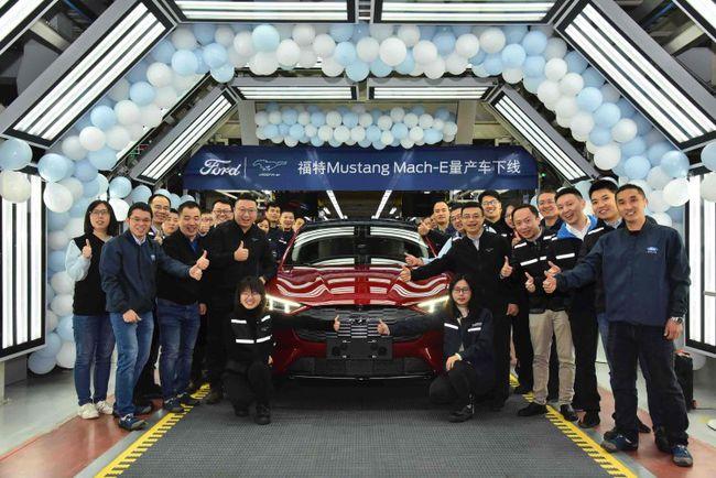 福特Mustang Mach-E首批量产车下线 年底开启交付