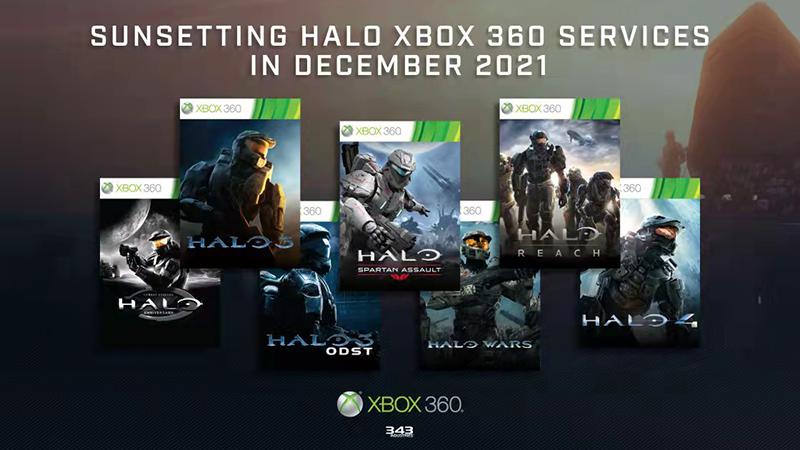 《光环》Xbox 360版在线服务将延长至2022年