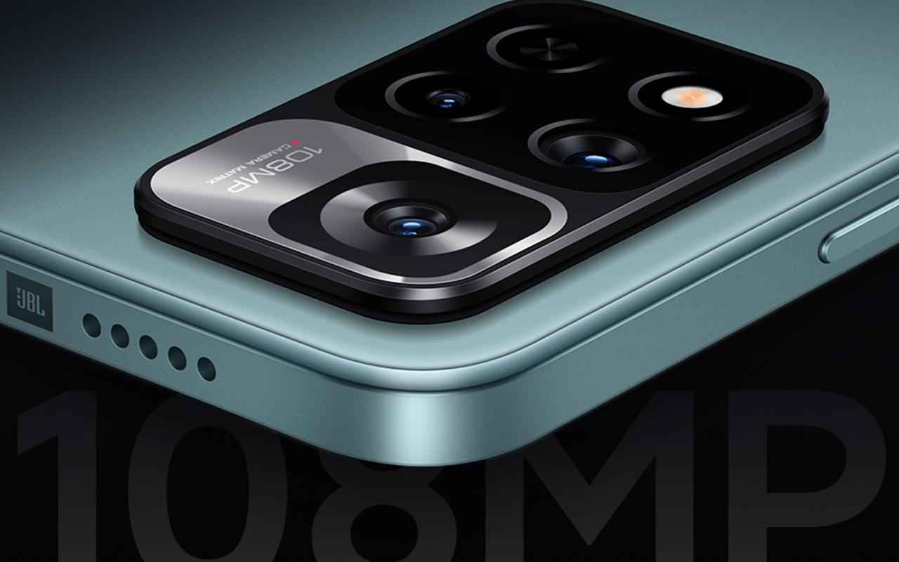 高清影像技术下放,Redmi Note 11 确认搭载 1 亿像素相机